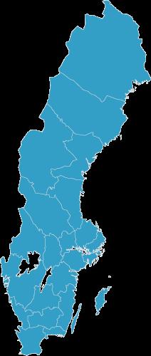 sverigekarta län