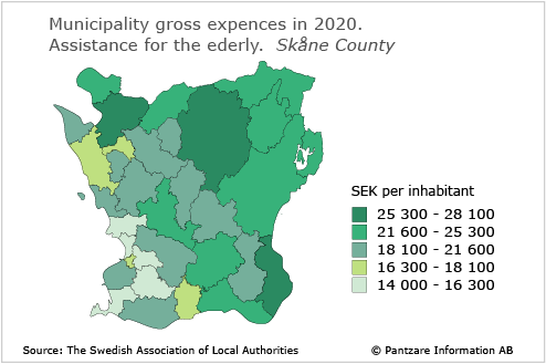 Diagrams bild Municipality gross costs, elderly and disabled